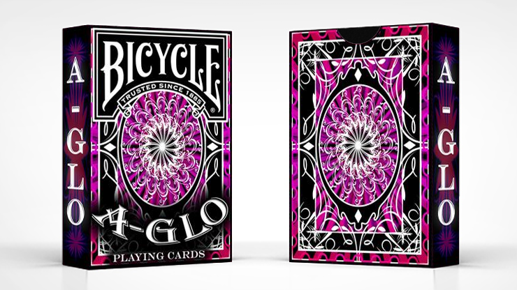BICYCLE A-GLO (RED)