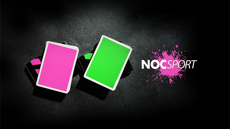 NOC SPORT PLAYING CARDS PINK