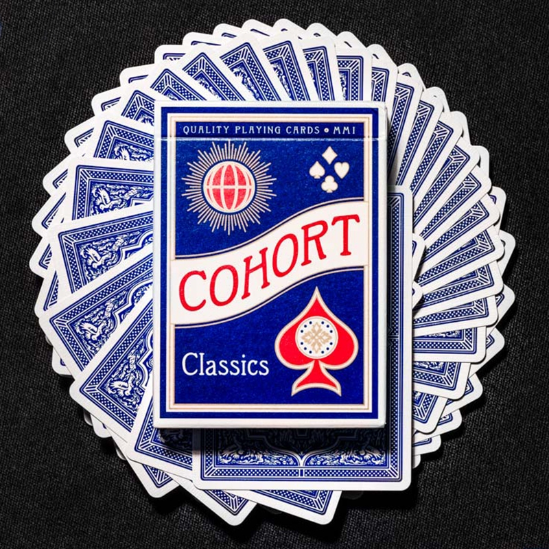 COHORT BLUE PLAYING CARDS