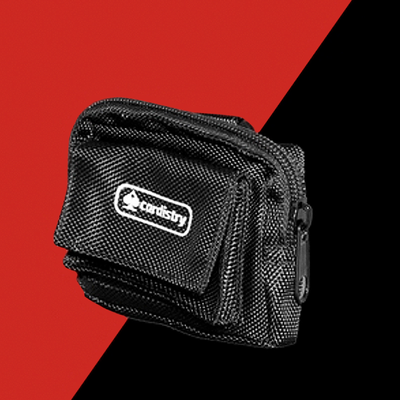 CARDISTRY BAG PLUS - BLACK