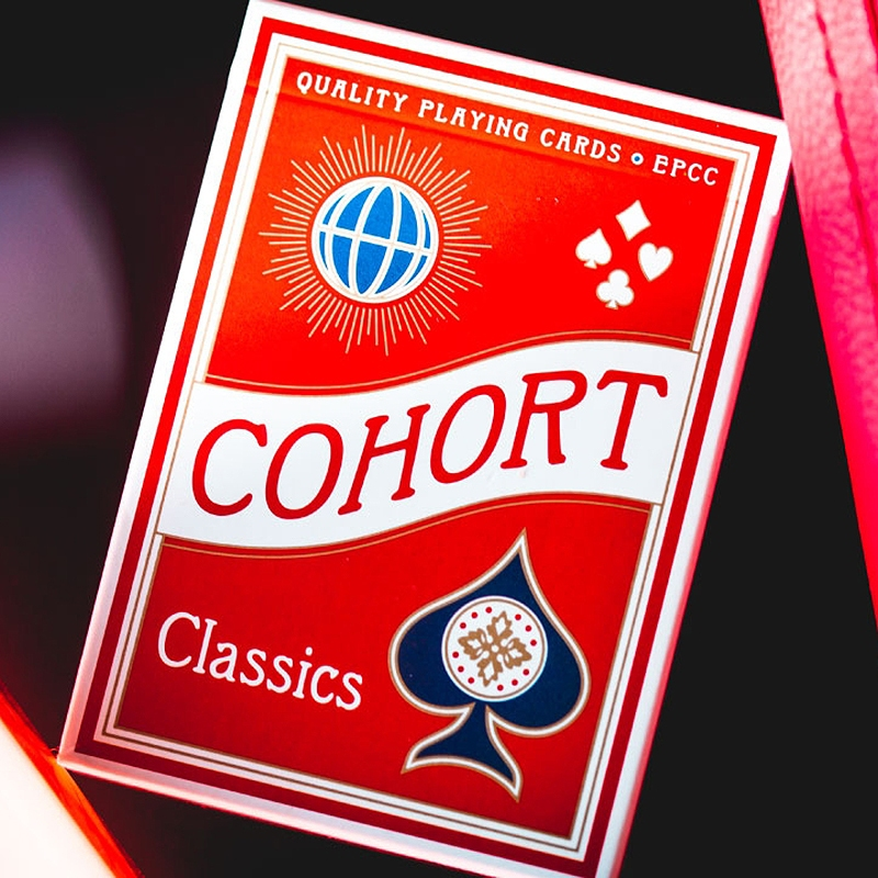 COHORT RED PLAYING CARDS