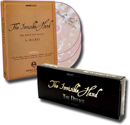 THE INVISIBLE HAND + 3 DVD