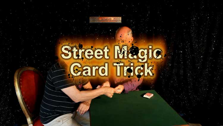 STREET MAGIC CARD TRICK