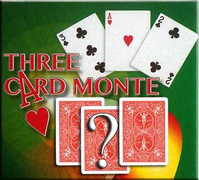 5 card monte video