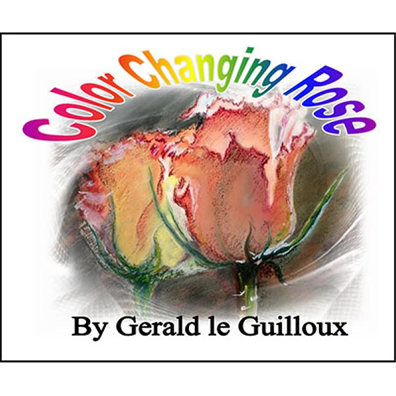 COLOR CHANGING ROSE BY GERALD LE GUILLOUX