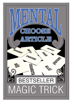 MENTAL CHOOSE ARTICLE