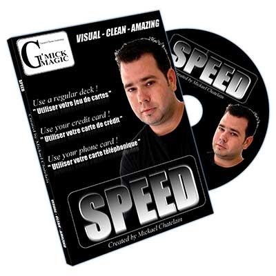 SPEED -  MICKAEL CHATELAIN GIMMICK + DVD