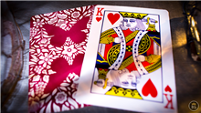 BUTTERFLY PLAYING CARDS SECOND EDITION - RED