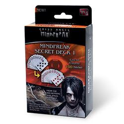 CRISS ANGEL SECRET CARD DECK - SVENGALI